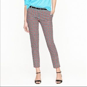 J. Crew Collection Café Capri in Kaleidoscope Dot